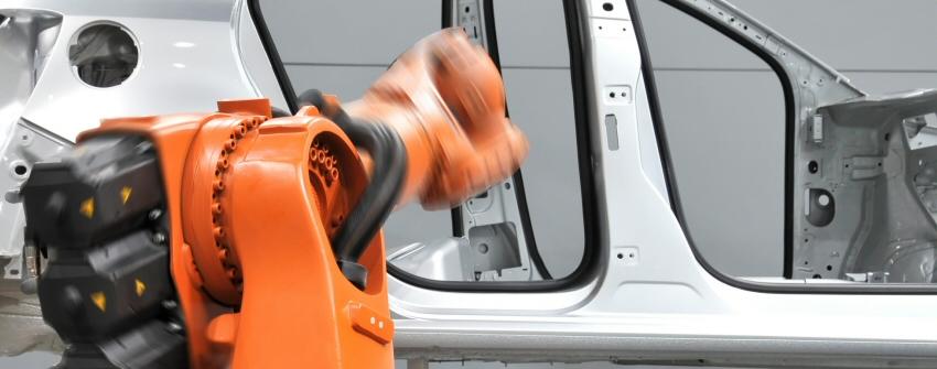 sicherheit roboterzelle schleuse